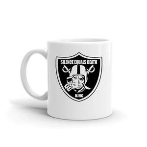 Silence Equals Death : Raiders Mug