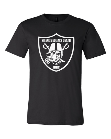 Silence Equal Death : Raiders Tee