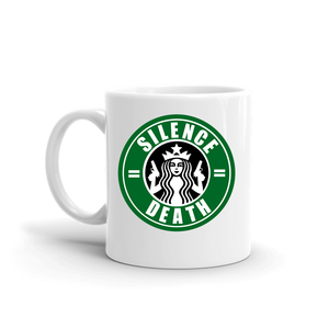 Silence Equals Death : Starbucks Mug