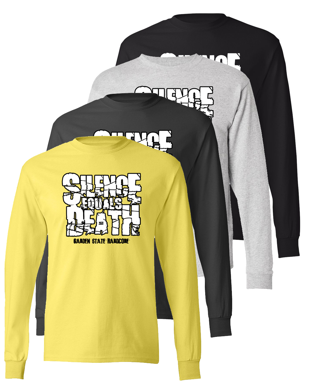 Silence Equals Death : Logo Long Sleeve Tee