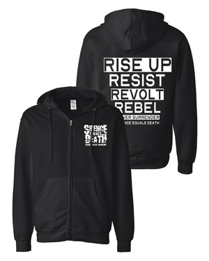 Silence Equals Death : Logo Zip Up