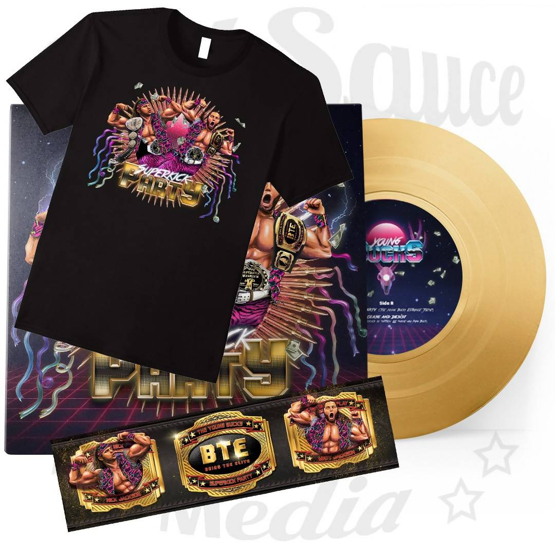 Superkick Party – Championship Gold Bundle