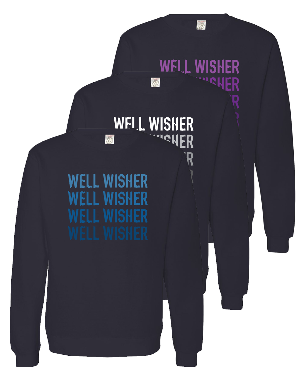 Well Wisher : Melt Sweatshirt