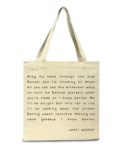 Well Wisher : Tote Bag