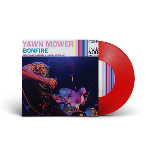 "Yawn Mower : Bonfire 7"" (RED)"