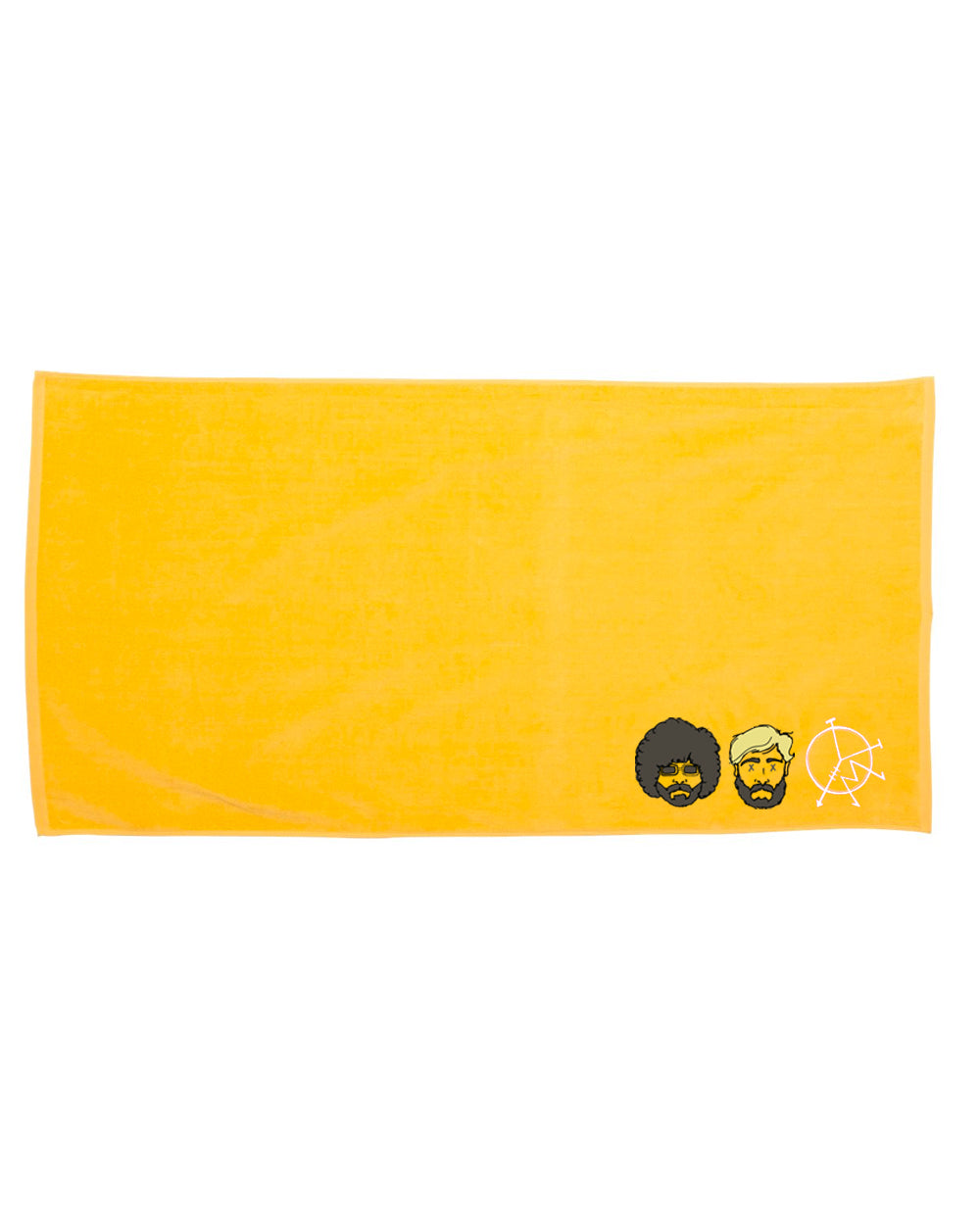 Yawn Mower : Beach Towel