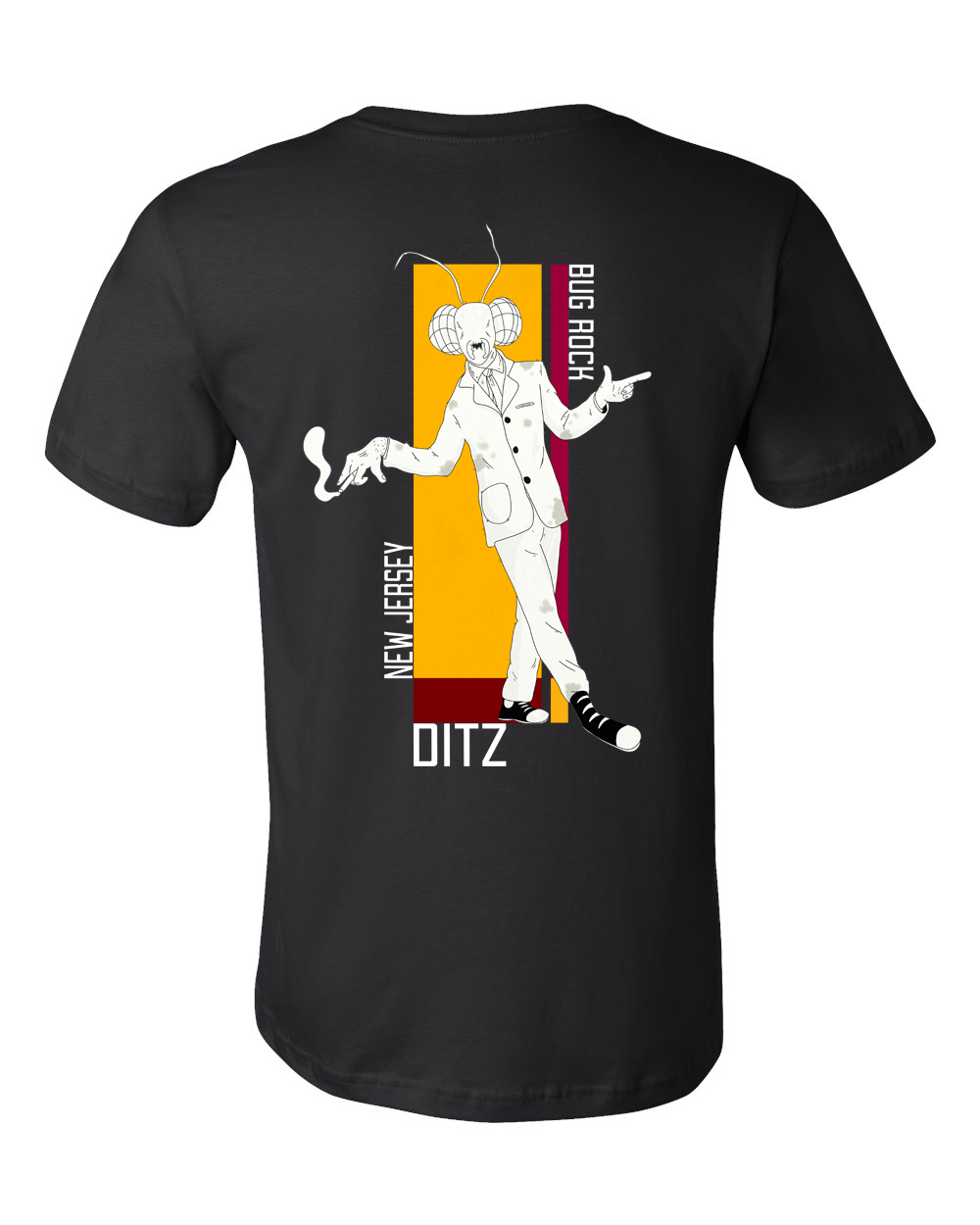 Ditz : Bug Rock Tee (Black)