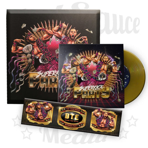 Superkick Party - Gold Canvas Bundle