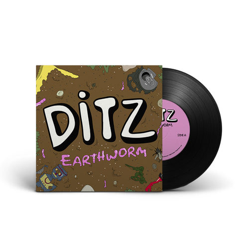 "Ditz : Earthworm 10"" (Black)"