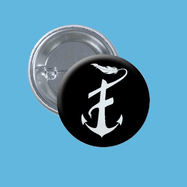 "FEATHERWEIGHT : ANCHOR 1"" Buttons (Set of 3)"