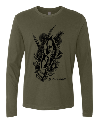 Body Thief : Girl Hand Long Sleeve Tee