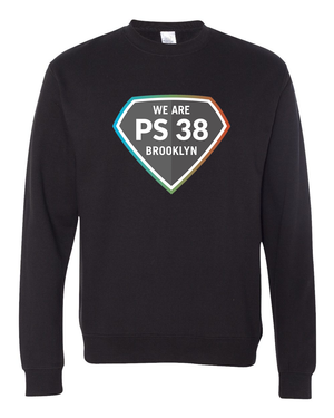 P.S. 38 : Adult Crewneck Sweatshirt