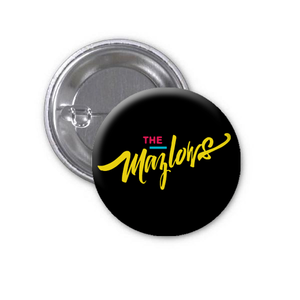 "The Mazlows : 1"" Script Buttons (set of 3)"