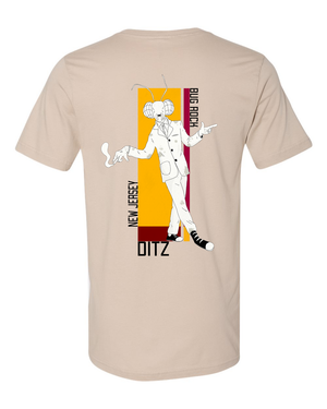 Ditz : Bug Rock Tee (Tan)
