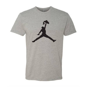 Jump Tee (Heather Grey)
