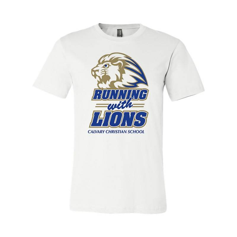 Running With the Lions (White)
