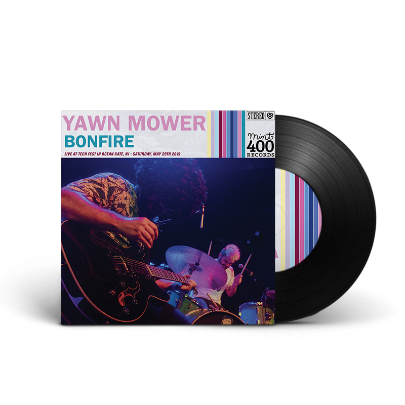 "Yawn Mower : Bonfire 7"" (Black)"