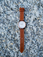 Load image into Gallery viewer, AW01 (Brown) Chronograph Date Movement