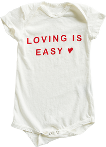Loving is easy Onesie