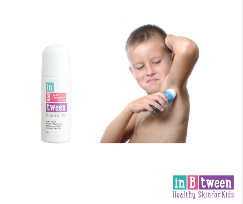 At what age should kids start to use deodorant?