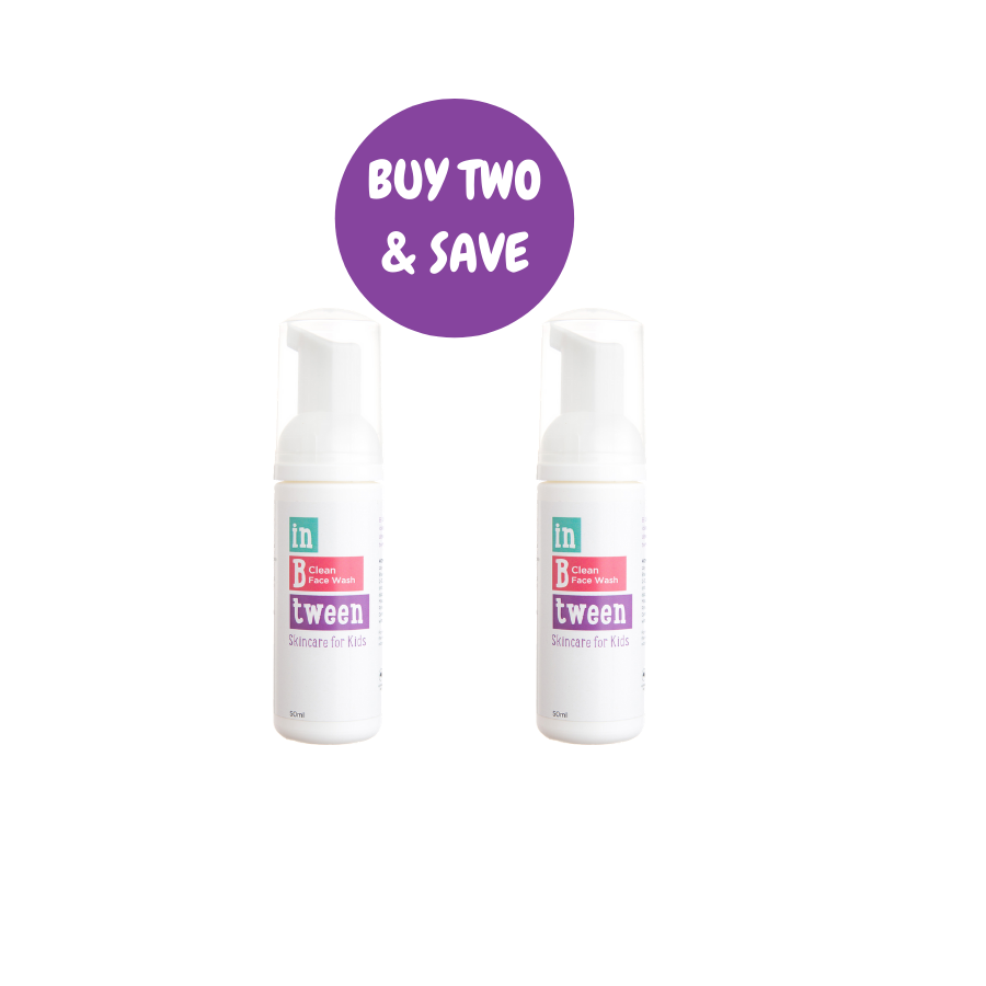 B Clean Face Wash 50ml (Twin Pack)