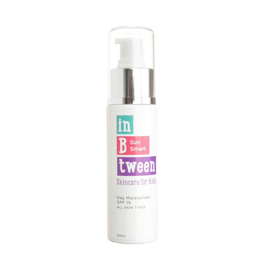 In B Tween Skincare B Sun Smart Sunscreen SPF15 for kids, tweens and teens