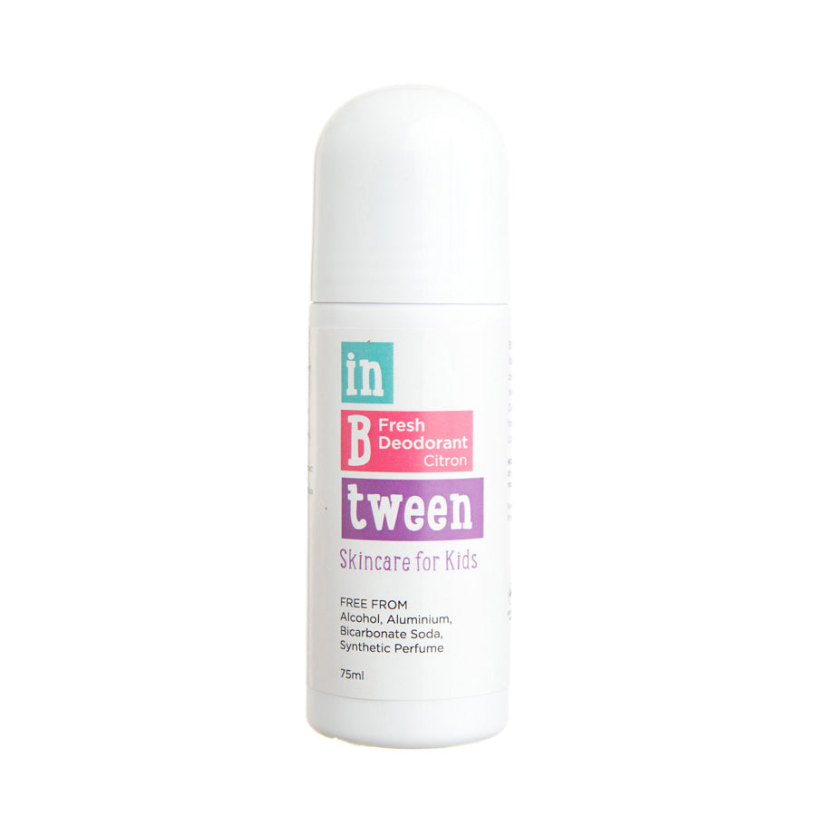 In B Tween Skincare B Fresh Deodorant Citron for kids, tweens and teens