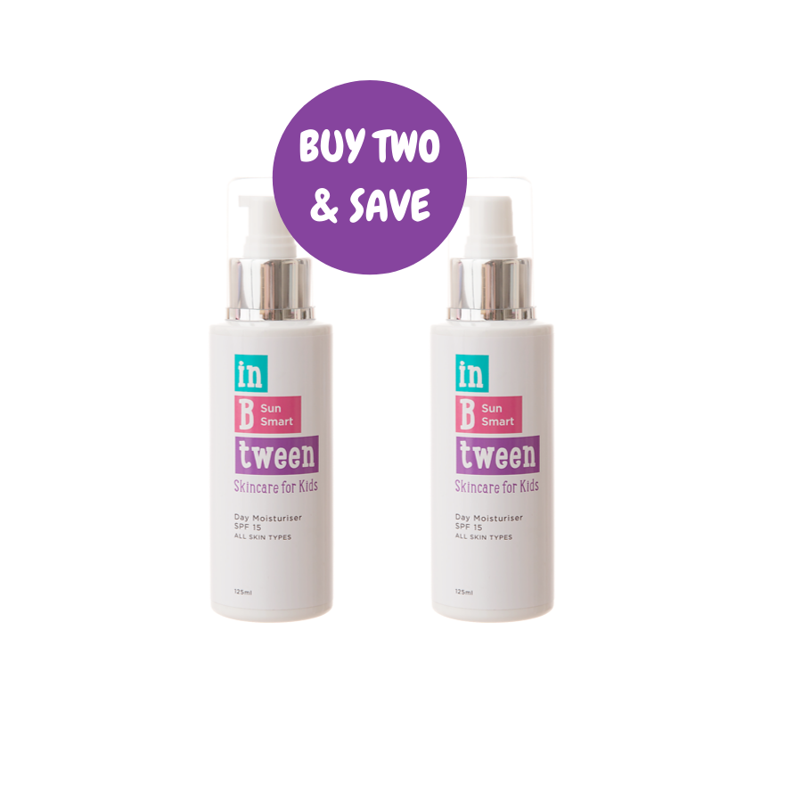 B Sun Smart Sunscreen SPF15 125ml (Twin Pack)