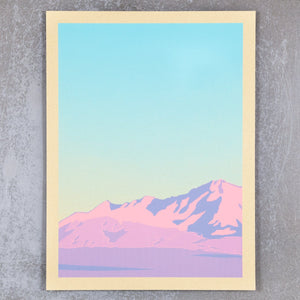 Mountain Scene Triptych