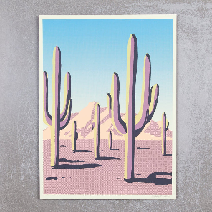 Sonoran Desert Cactus Screenprint