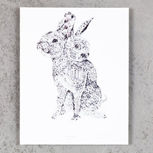 Two-Headed Zombie Rabbit