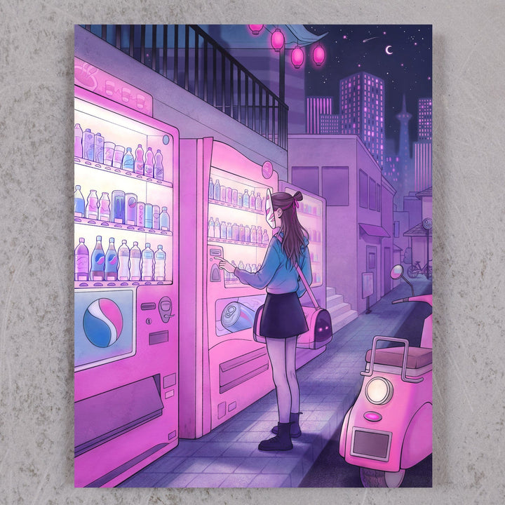 Vending Machine (holographic print!)