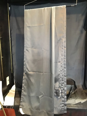 MainStay Pair Grey Polyester Solid Curtains