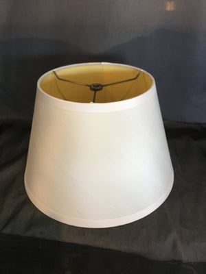 Cream Round Restoration Hrd. Lamp Shade