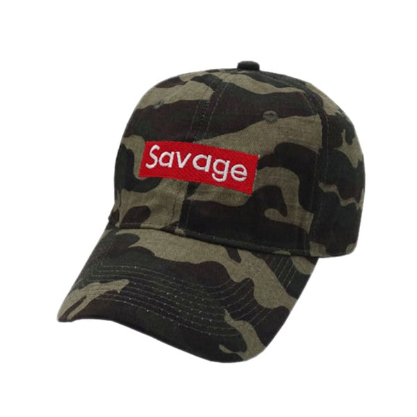 Savage Dad Hat-3 Color Options