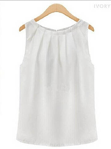Sleeveless Blouse- 2 Color Options