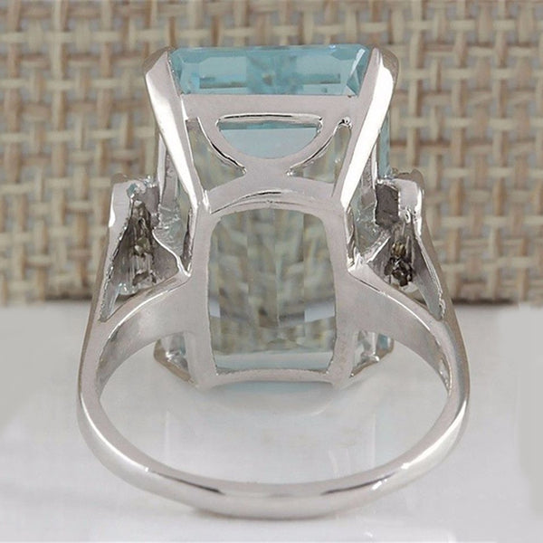 Big Drip Cubic Ring