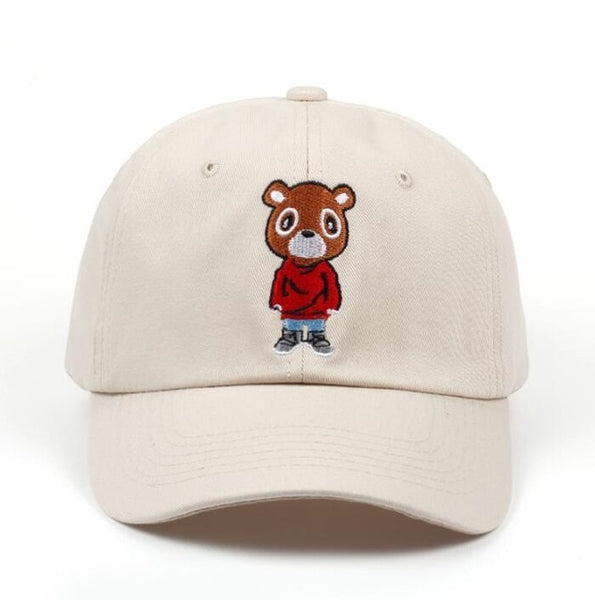 Yes Bear Dad Hat-3 Color Options