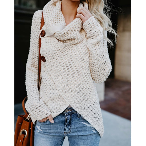 Winter Knit Sweater-4 Color Options