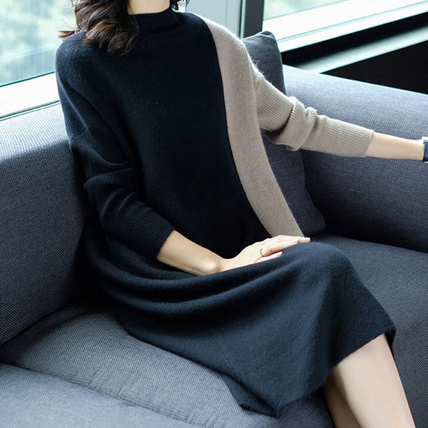 Autumn Nights Sweater Dress-2 Color Options