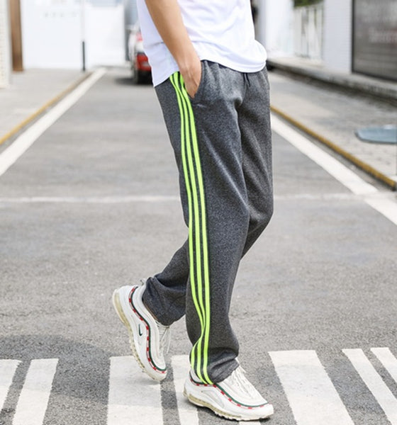 Triple Stripe Loose Fit Joggers-5 Color Options
