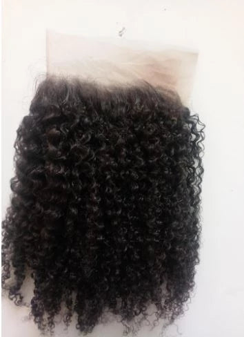 HD Film Lace Kinky Curly Closure - Exotic Hair Shop