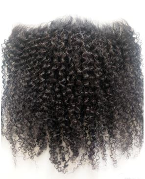 HD Film Lace Kinky Curly Frontal - Exotic Hair Shop