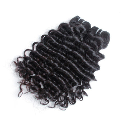3 Malaysian Curly Bundles - Exotic Hair Shop