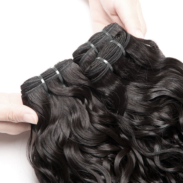 3 Malaysian Water Wave Bundles - Exotic Hair Shop
