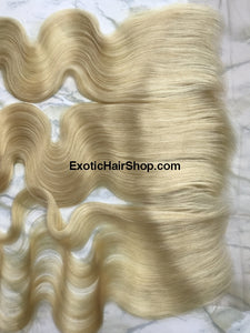 HD Film Lace / HD Lace Frontal 13x4 613 Blonde - Exotic Hair Shop