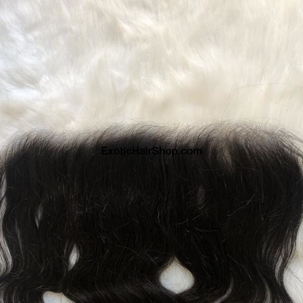 HD Film Lace / Illusion Lace 13x6 Frontal - Exotic Hair Shop
