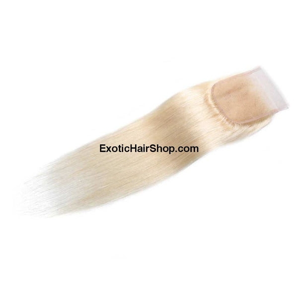 HD Lace Closure 5x5 613 Blonde - Exotic Hair Shop