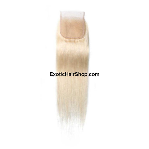 HD Film Lace / HD Lace Closure 4x4 613 Blonde - Exotic Hair Shop