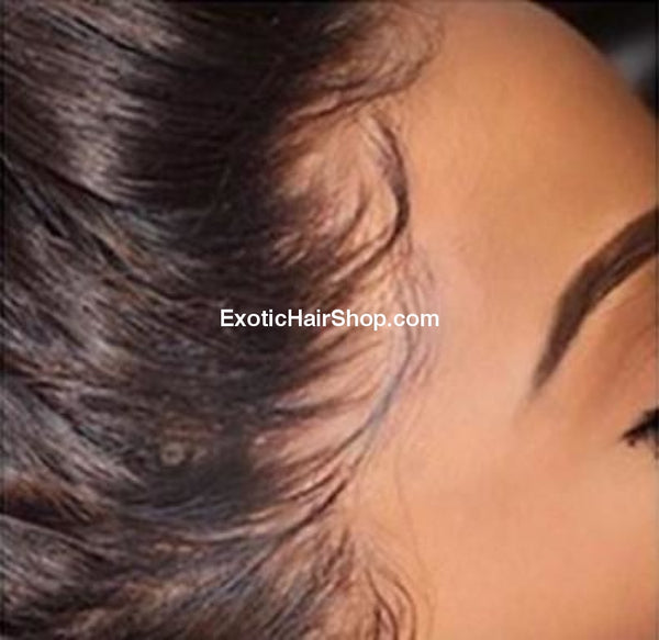 HD Film Lace / Illusion Lace Wig on a 13x4 Frontal - Exotic Hair Shop